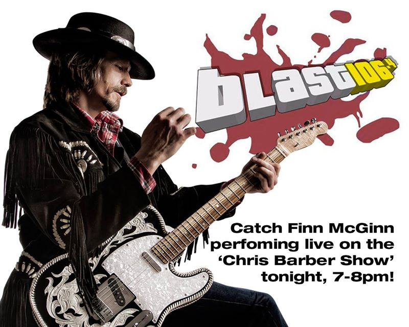 Finn mcginn on belfast radio station blast106